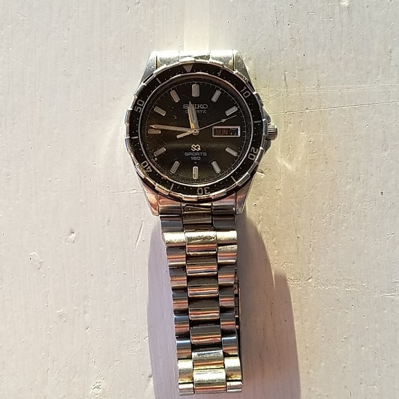 04103d2fb1cd ♥️Seiko Sports 150 stainless steel mens watch. M 5c31267de944bab2c60c8b29.  Other Accessories ...